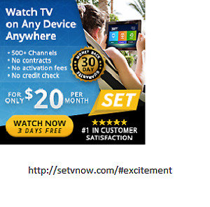Free 3 Day Trial - Quality HDTV Live!!