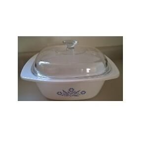 Corning Ware Cornflower Dutch Oven