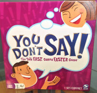 """NEW Board Game """"YOU DON""""Y SAY"""""""