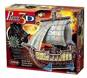 Puzz 3D - Pirate Ship - Glow in the Dark Puzzle  Great fun.