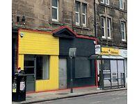 Huge Shop To Rent / To Let 114 Gorgie Road Edinburgh