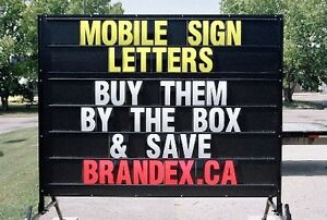 MOBILE SIGN LETTERS Kitchener / Waterloo Kitchener Area image 1