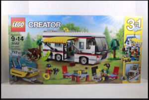 NEUF! LEGO 3 in 1 Creator 31052 Vacation Getaways