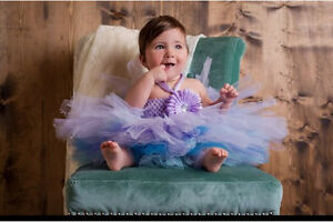 Homemade tutus, dresses and accessories