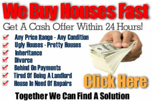 We Will Buy Your House CASH, FAST!