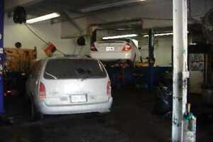 Fully Equip AutoGarage Safety Inspection USED CAR Excel CashFlow