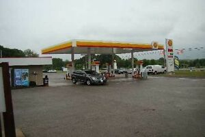 SHELL GAS STATION WITH PROPERTY! 2 HRS FROM GTA!!