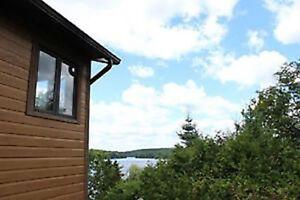 Superbe chalet vue mont Orford accès privé lac Orford