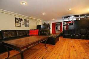 800 sqft bach/ 1 bd basement on Roncesvalles with claw foot tub
