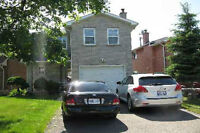 3 Bedroom Detached Plus family roon on 2nd floor for rent.