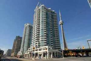 1 Bdrm + Den FOR RENT on 22nd floor at 228 Queens Quay W.