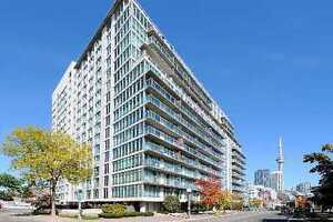 1 Bedroom Condo Downtown Waterfront - Lakeshore/Bathurst!!