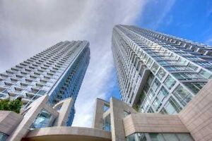 Luxury Furnished 1 Bdrm + den in Minto's Quantum Towers