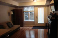 Bachelor/Studio apartment rented FULLY FURNISHED.