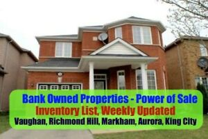 Mississauga Power of Sale Properties