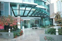 1 BED CONDO RENT DOWNTOWN WATERFRONT ENSUITE LAUNDRY, 500sf+