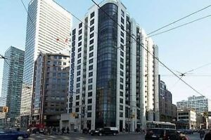 Bay and College 1 Bedroom Condo for Lease