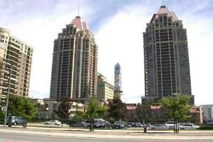 2 bd rm condo near Square One for lease (May to August only)