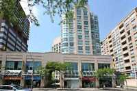 1 bed + den in Rosedale/Yorkville with Parking