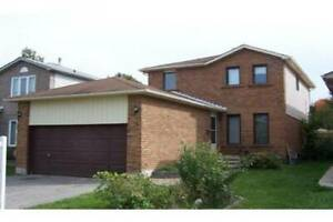 Detached 2-Storey house family home for rent.