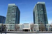 Furnished, Luxury Condo, Very Bright South East Facing & Parking