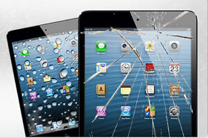 RÉPARATION VITRE IPAD MINI IPAD 2 3 4 AIR GLASS REPAIR * 69.99$