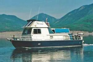 1972 All West 37 foot family-fishing boat