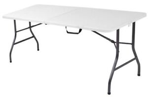 6 FT. FOLDING TABLE PLIANTE DE 6 PIEDS