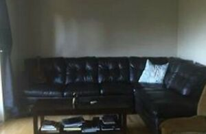 Mint condition sectional sofa