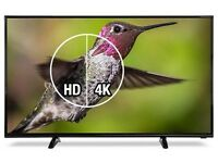 """Cello 42"""" Ultra HD 4K LED Tv freeview usb hdmi free delivery"""