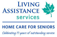 URGENT REQUIREMENT - PSW WORKERS, BURLINGTON, MORNINGS ONLY