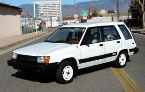 80's - early 90's Toyota SR-5 Wagon