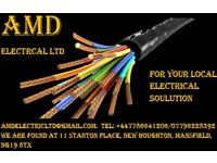 AMD ELECTRICS LTD based in manfield and worksop
