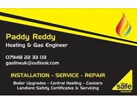 Fully Gas Safe Registered Heating & Plumbing Engineer