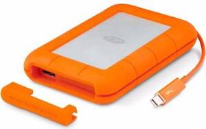 NEW Lacie Rugged Thunderbolt 500GB External SSD 387MB/s RRP $739 Blacktown Blacktown Area Preview