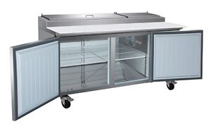Refrigerated work prep bench. Commercial bench fridge. Adelaide CBD Adelaide City Preview