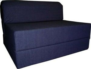 Full size sleeper chair folding foam bed sofa couch foam for Sofa bed mattress 60 x 70