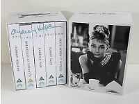 AUDREY HEPBURN VHS VIDEO TAPES BOXED COLLECTION WITH FIVE OF HER VERY BEST FILMS - WILLING TO POST