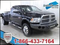2010 Dodge Ram 3500 Laramie, Heated/Cooled Leather, Navigation,