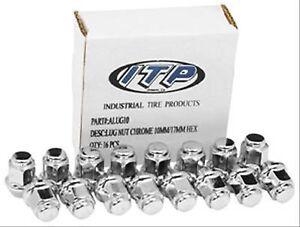 Tapered Lug Nuts Chrome Polaris Rzr 800 570 3/8