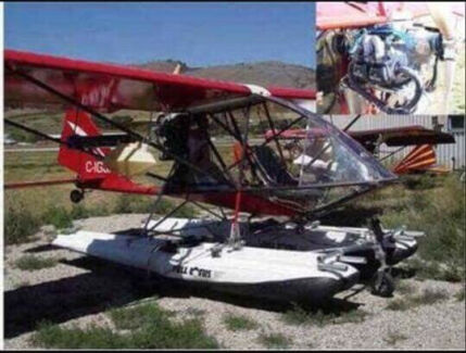 Ultralight aircraft, stored in caravan (Open for trade offers)