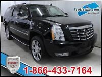 2008 Cadillac Escalade ESV AWD, Leather, Navigation, Sunroof