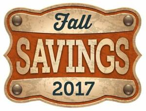 STIHL 2017 Fall Savings NOW ON!