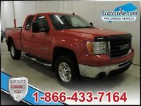2008 GMC Sierra 2500HD SLT, Leather, Sunroof, One Owner