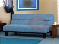 Sweet Dreams Memphis Double Sofa Bed in Blue Was £240 Now £80