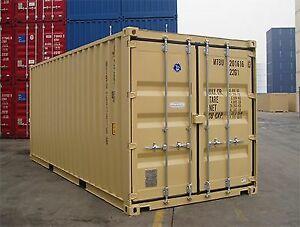 Containers maritimes d'entreposage chantier