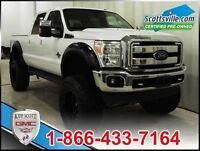 2013 Ford F-350 Lariat, Lifted, Custom Wheels, Loaded!