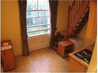 NOTTINGHILL GATE /WESTBOURNE PARK TUBE- Self Contained Studio with Mezzanine, bathtub and shower,