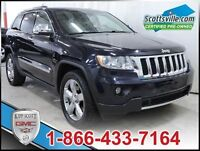 2011 Jeep Grand Cherokee Overland Sport, Leather, Navigation, He