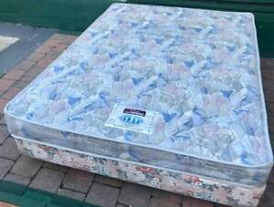 Good condition queen bed base with spring mattress. Delivery avai Kingsbury Darebin Area Preview